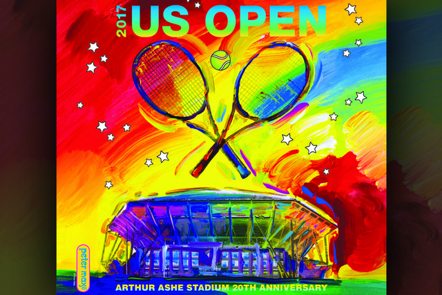 2017 US Open Theme Art by Peter Max
